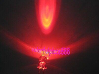 5mm Orange Round High Power Super Bright 5K MCD Water Clear LED Leds New 50pcs