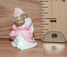 1994 Hallmark NEW Easter MOUSE with FLOWER Merry Miniature QSM8243 Never Used