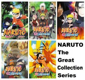 Naruto Shippuden Episode 1 720 Dvd Anime Complete Collection English Dubbed Ebay