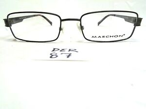 8e32339beb Image is loading New-MARCHON-Eyeglasses-M167-331-Brown-Tortoise-Rectangular-