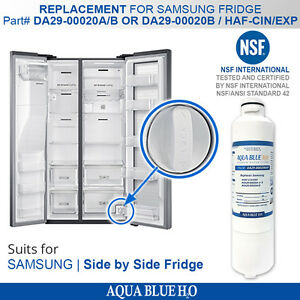 Details about DA29-00020A/B REPLACEMENT FRIDGE FILTERS for Samsung model  SRF801GDLS,SRF731GDL