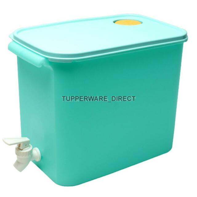 Tupperware Aqua Rectangular Water Dispenser 8.7 Litres - Free Shipping