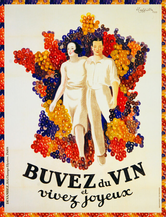 Quality POSTER.Cappiello Buvez French wine.Home Room Decor Bar art print.q740