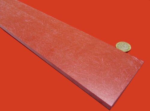 "GPO3 Red .375/"" Thickness x 3.0/"" Width  x 36/"" Length 4014 Fiberglass Bar"