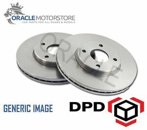 NEW-FRONT-256-MM-VENTED-BRAKE-DISCS-SET-BRAKING-DISCS-PAIR-OE-AFTERMARKET-RS3137