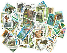 WILD ANIMALS ? 250 DIFFERENT STAMPS [2501] + FREE GIFT
