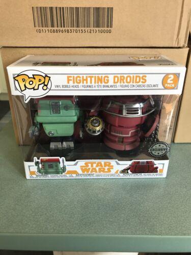 Funko POP Vinyl Star Wars Solo Fighting Droids Figures 2-Pack Exclusive