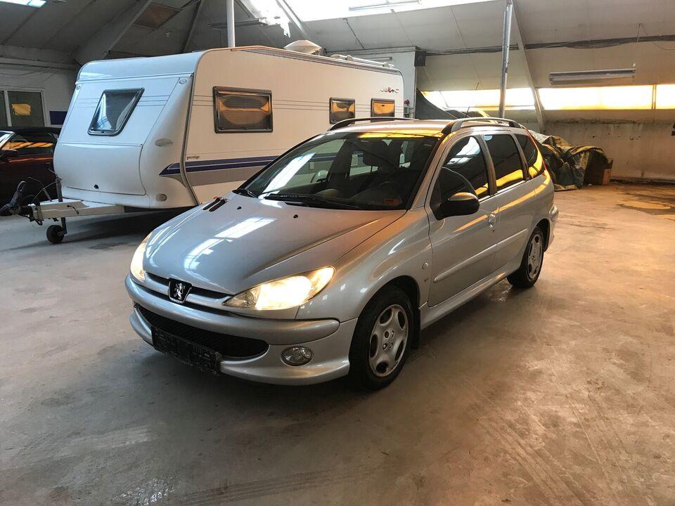 Peugeot 206, 1,6 S16 stc., Benzin