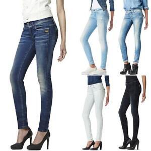 G-Star-Midge-Cody-Mid-Waist-Skinny-Damen-Jeans-Hose-Jeanshose-Roehrenjeans