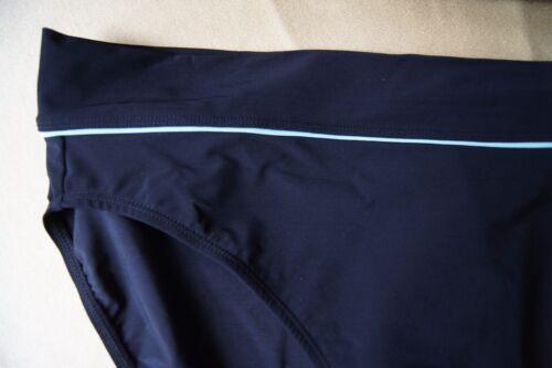 Panache Black//Aqua Grace SW0183 Bikini Folded Top Pants 3XL