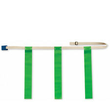 "Triple Threat Flag Football Belt w/ Green Flag - X-LRG: 38"" - 52"""