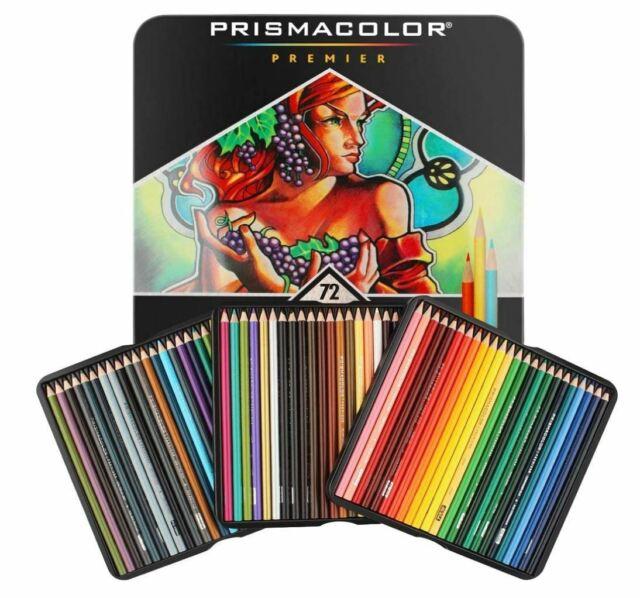 Prismacolor Premier Colored Pencils Complete Set of 72 Assorted Colors