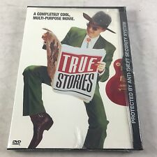 True Stories 1986 DVD David Byrne Talking Heads Music Film John Goodman OOP New