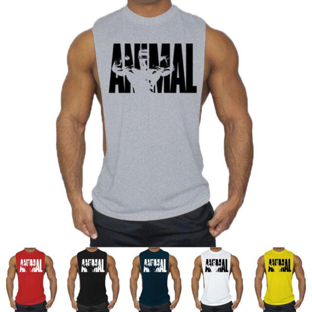 Bulldog Gym Mens Funny T-Shirt MMA Training Weightlifting Bodybuilding Saiyan