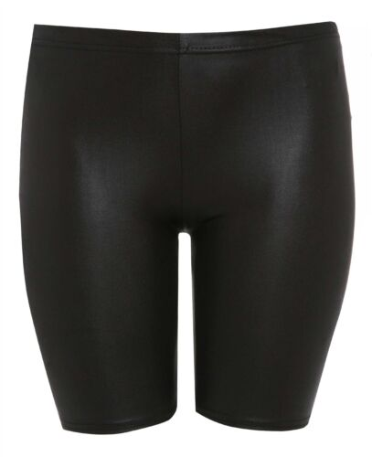 New Womens Plus Size Knee Cycling Shorts Active Wear Tights Hot Pants 16-26