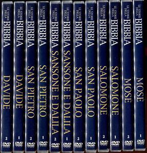 Le storie della bibbia cofanetto completo dvd nuovo e