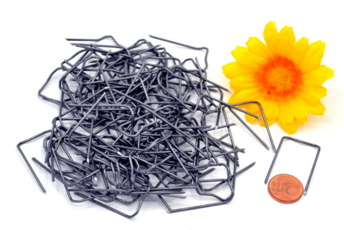 Patenthaften 17//25 Krampen Nadeln Florale Deko basteln Muwse 150g ca. 235 Stk.