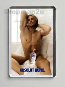 New-Sexy-Fridge-Magnet-Vodka-ABSOLUT-HUNK-Sex-In-The-City-Model-Cheeky