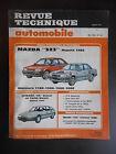 "Revue technique automobile n°491 05/1988 Mazda ""323"" depuis 1985"