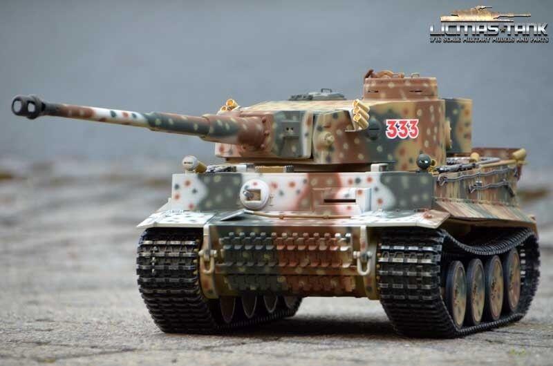 Carri armati RC 2.4 GHz BB 360   Tiger 1 Russia Spring 1943 Taigen metallo Edition 1:16