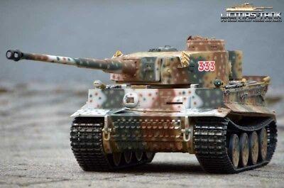 Simbolo Del Marchio Carri Armati Rc 2.4 Ghz Bb 360 ° Tiger 1 Russia Spring 1943 Taigen Metallo Edition 1:16-mostra Il Titolo Originale Sconto Online