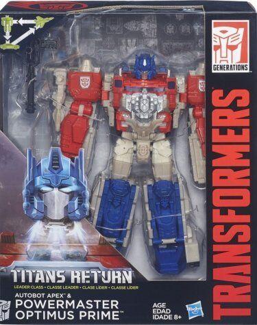 Kb11 Transformers Generation 2016 Titans  return energia master Optimus Prime  scelta migliore