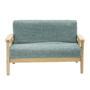 1//12 Scale Doll House Sofa Miniature Furniture Living Room 11x6x7.5cm Green