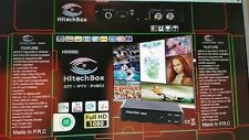 HitechBox HB9000 With IPTV Built In High Definition Satellite Receiver