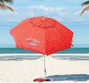 Tommy Bahama 2016 Sand Anchor 7 Feet Beach Umbrella With Tilt And