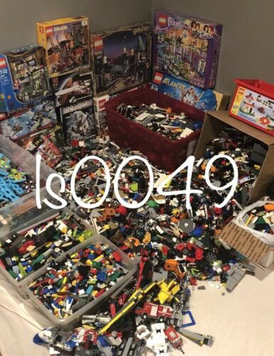 Estimated 400 Lego Pieces HUGE LOT WITH MINIFIGURES # washed /& #sanitized