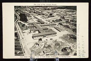 Details about Postcard Oak Ridge Hospital City Atomic Bomb Tennessee TN  RPPC B&W