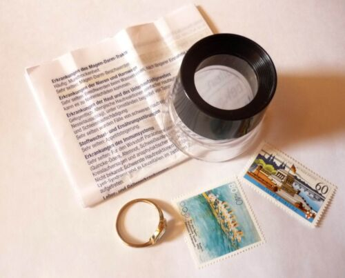 Stand Magnifier makers Read Work Jeweler Magnifying Glass 10 X