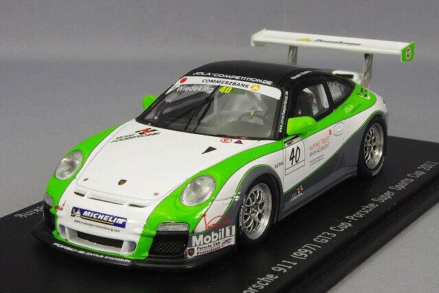 SPARK 1 43 PORSCHE 911 (997) GT3 Cup Super Sports Cup 2011  40 W. Wiedeking