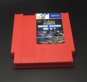 Super-Games-150-in-1-Nintendo-NES-Cartridge-Multicart-Video-Game-Item-143