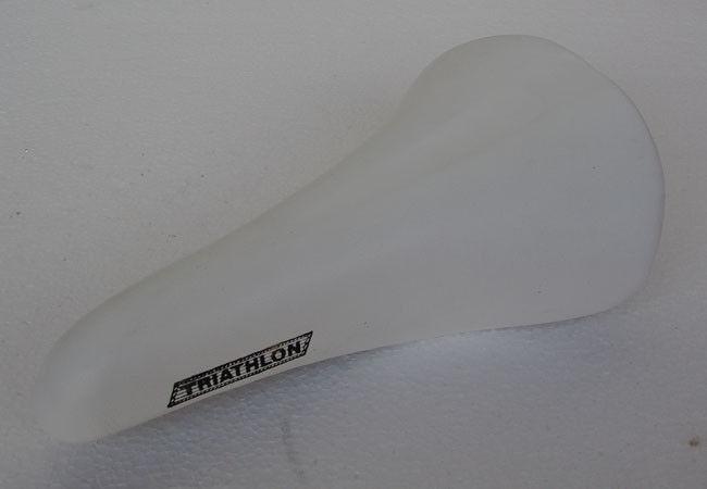 Selle Italia Turbo Triathlon Leder  Sattel, white, kein Nachbau, NEU, NOS  factory direct