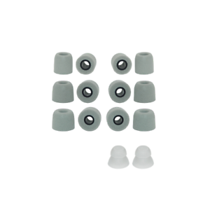 6PCS Replacement Ear Cushions Foam Tips JVC Marshmallow Earbud Earpieces Sleeves