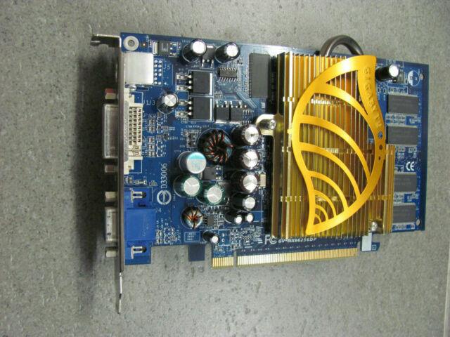 GIGABYTE GV-NX66256DP GeForce 6600 (256 MB) (GVN66256DP) Grafikkarte