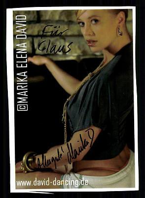 Sparsam Marika Elena David Original Signiert ## Bc 38936 Schnelle WäRmeableitung Original, Nicht Zertifiziert National