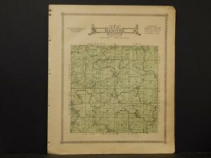 Iowa, Allamakee County map, Township of Hanover, 1917 L3#82