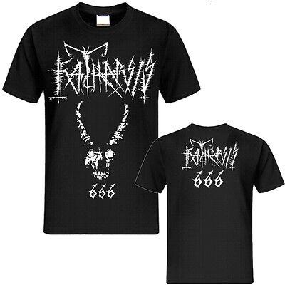 Katharsis - 666 T-SHIRT - S/M/L/XL/XXL Nargaroth Moonblood Deathspell Omega