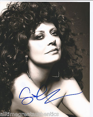 Photographs Honest Actress Susan Sarandon Signed Bull Durham 8x10 Photo W/coa Thelma & Louise G Good For Energy And The Spleen