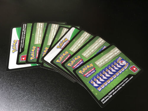 10x Pokemon Cards Online TCG Codes Lost Thunder