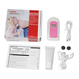Fetal-Doppler-LCD-Screen-GEL-earphone-pink