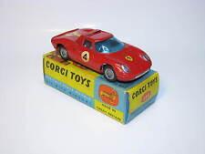Corgi Toys #314, Ferrari Berlinetta 250 Le Mans, With Original Box