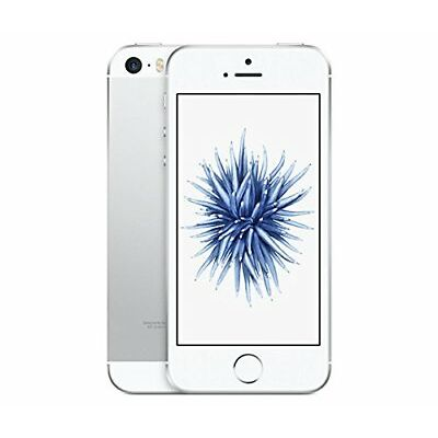 Genuine Apple iPhone SE Mobile Phone Silver 16GB 12MP Unlocked Camera 4G LTE UK