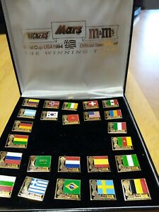 Mars-World-Cup-USA-94-pin-collection-24-pins