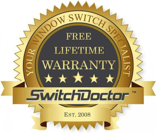 SWITCHDOCTOR Window Master Switch for 2002-2009 Dodge Ram 2 Door