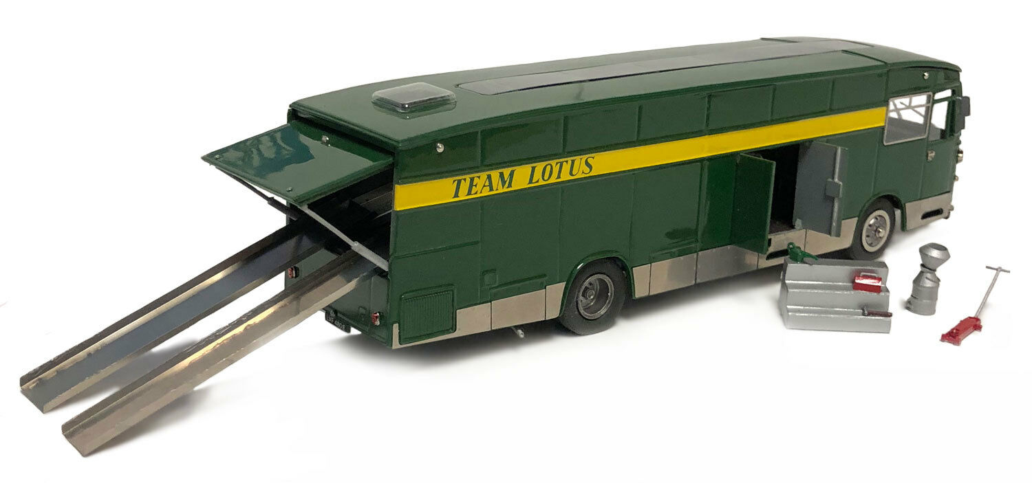 SMTS SP003A AEC Swift F1 Transporter 'Team Lotus' 1967-68 - 1 43 Scale