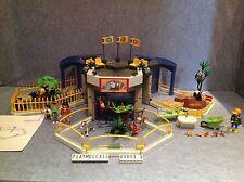 (O4093.3) playmobil Rare set zoo bébé animaux année 2007 ref 4093