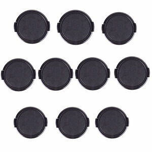 10pcs-52mm-Seite-Pinch-Snap-on-Front-Lens-Cap-Cover-fuer-Canon-Nikon-Pentax-Sony
